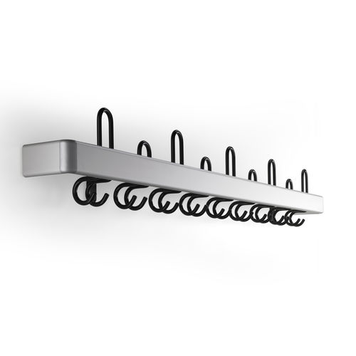 appendiabiti a muro / moderno / in metallo / contract