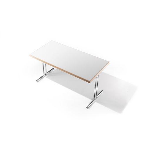 tavolo per corsi di formazione moderno / in legno / rettangolare / pieghevole