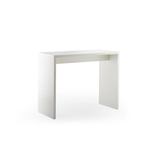 tavolo alto moderno / in faggio / impiallacciato in legno / in HPL