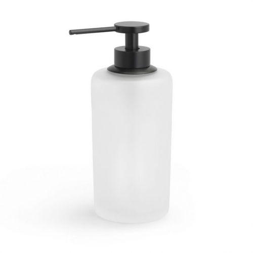 distributore di sapone da appoggio / in ottone / in vetro / manuale