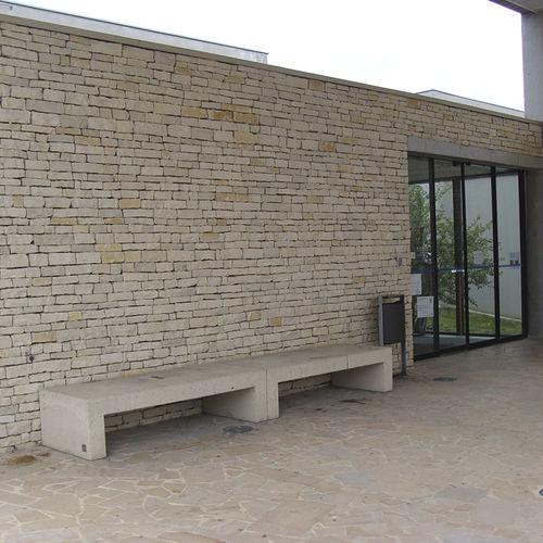paramento in calcare / per facciata / decorativo