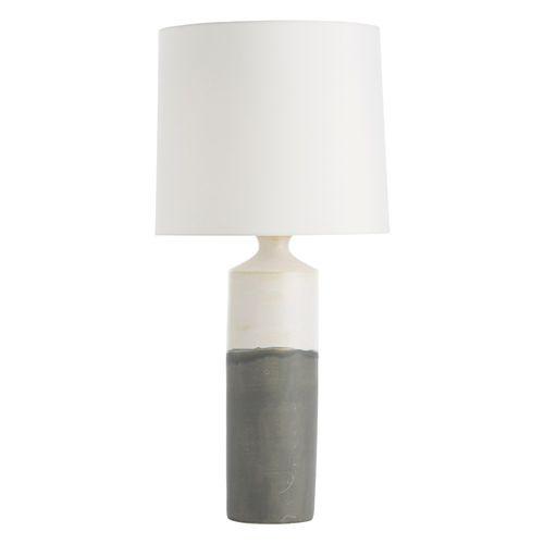 lampada da tavolo / moderna / in porcellana / in fibre sintetiche