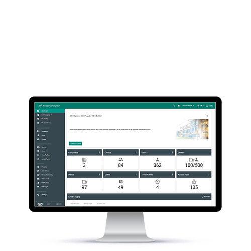 software di gestione di controllo accessi e sicurezza / di monitoraggio / per sistema RFID / per videocitofono IP