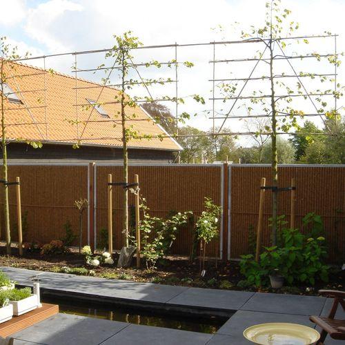 recinzione da giardino / a pannelli / in noce di cocco / modulare