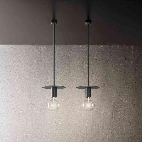 lampada a sospensione / design minimalista / in ferro / LED