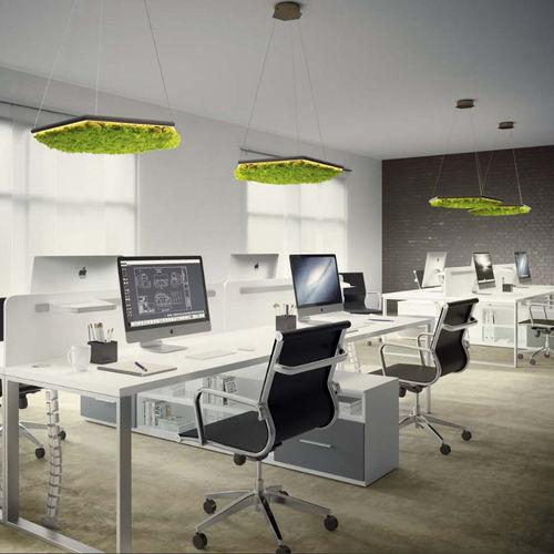 lampada a sospensione / design / in metallo / da interno