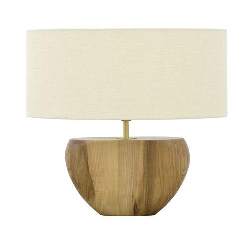lampada da tavolo / moderna / in tessuto / in frassino