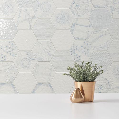 Piastrella da interno / da parete / in gres porcellanato / a motivi geometrici MELAGRANO ORNAMENTA