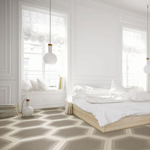 Piastrella esagonale da interno / da parete / da pavimento / in ceramica CØRE BASICS ORNAMENTA