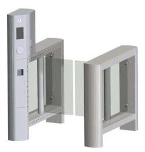 tornello a mezza altezza / per controllo accesso / in acciaio inossidabile / in vetro