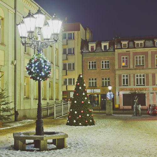 decorazione natalizia luminosa per spazi pubblici