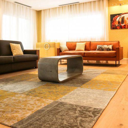 Tavolino basso moderno / in calcestruzzo / rettangolare / da interno OPUS PRIMO CO33