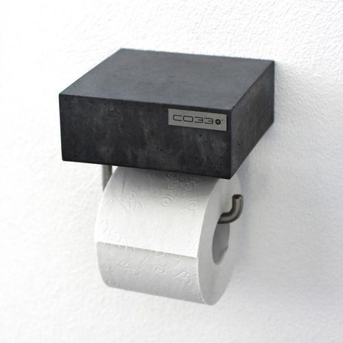 distributore di carta igienica da parete / in acciaio / in calcestruzzo