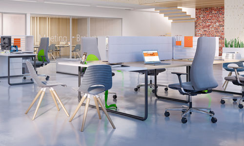 scrivania per open space - Nowy Styl Group