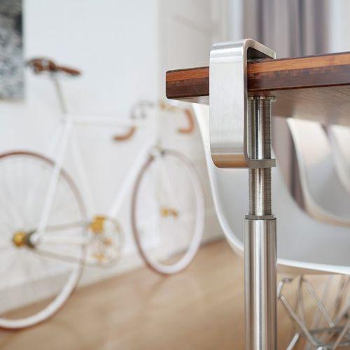 piede da tavolo in acciaio inossidabile / moderno / per uso residenziale