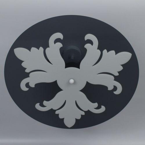 plafoniera moderna / tonda / in Plexiglas® / LED