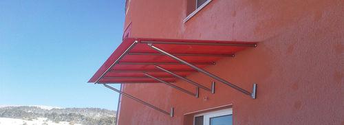tettoia per terrazzo / da ingresso / per finestra / per porta