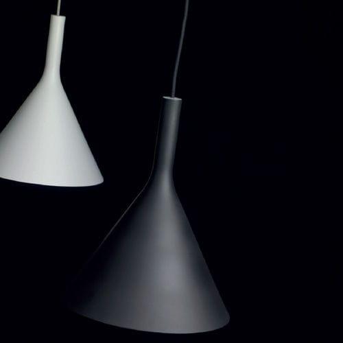 lampada a sospensione / moderna / in metallo / alogena