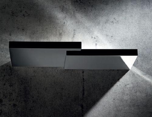 applique moderna / in ghisa di alluminio / in metallo cromato / LED