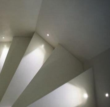 luce da incasso a muro / LED / rettangolare / in alluminio verniciato