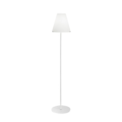 lampada da terra / moderna / in vetro soffiato / alogena