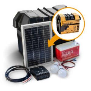 kit solare fotovoltaico / portatile / per impianti a isola