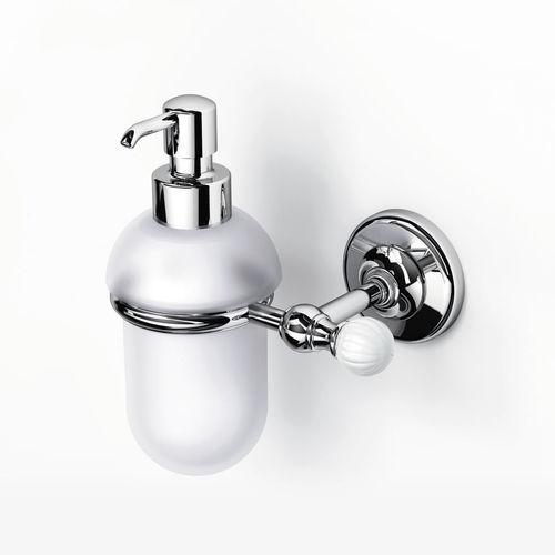 distributore di sapone da parete / in porcellana / manuale