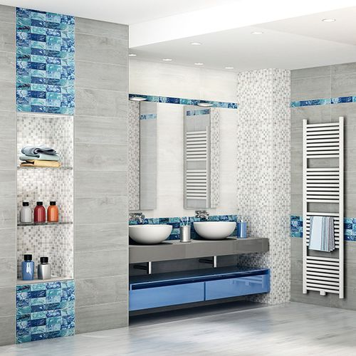 piastrella da bagno / da parete / in ceramica / a motivi
