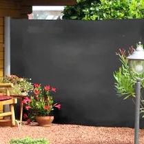 paravento moderno / in tessuto / da giardino / portatili