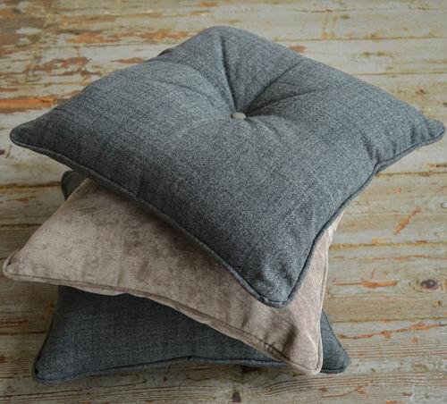 cuscino per divano / per sedia / quadrato / in lana