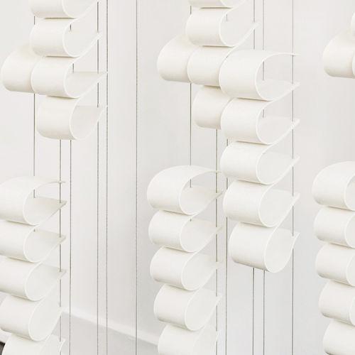 pannello acustico per interni / a muro / in tessuto / in lana