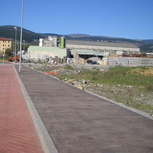bordura per marciapiede / in calcestruzzo / lineare