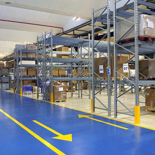 pavimento in resina epossidica / industriale / per spazio pubblico / altri formati