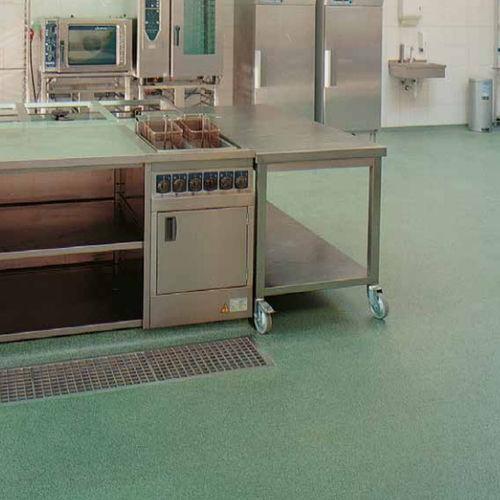pavimento in resina / per il settore terziario / liscio / aspetto cemento colorato