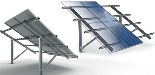 sistema di montaggio a terra / per modulo fotovoltaico