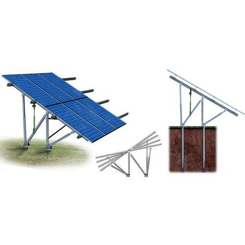 sistema di montaggio a terra / per sistemi a isola / per modulo fotovoltaico