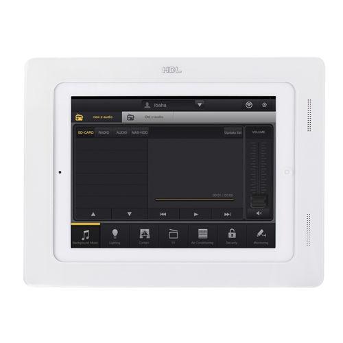 supporto per iPad® per uso residenziale / da parete