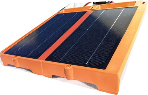 tegola fotovoltaica / in resina termoplastica / 100% riciclabile