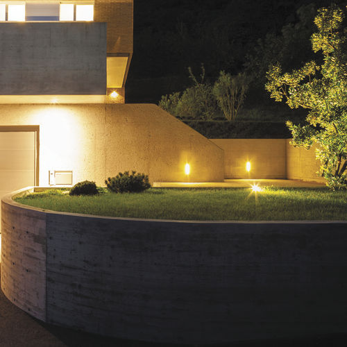 Luce ad incasso / LED / rettangolare / da esterno LEVY Brilumen