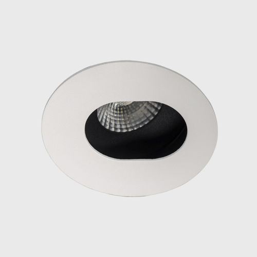 downlight da incasso / LED / tondo / in alluminio