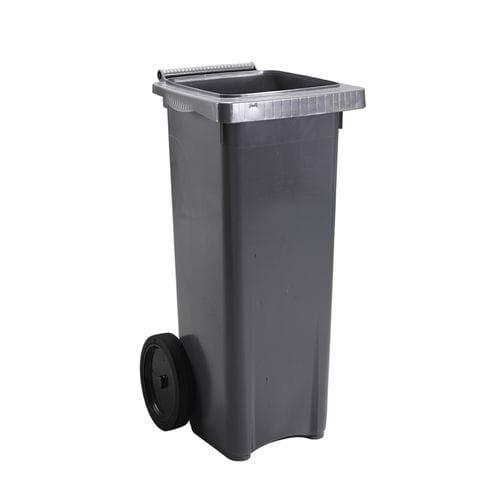 pattumiera contenitore / in plastica / moderna / con ruote