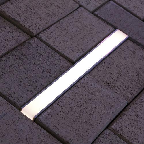 luce da incasso a pavimento / LED / lineare / da esterno