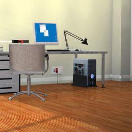 canalina di cablaggio in alluminio / in PVC / a muro / per scrivania