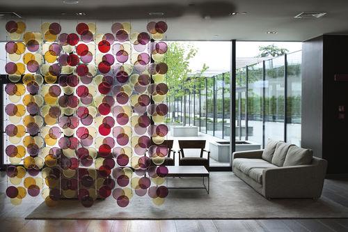 separatore di spazi in vetro di Murano / professionale