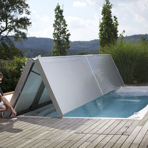 protezione per piscina automatica / di sicurezza / termica / invernale