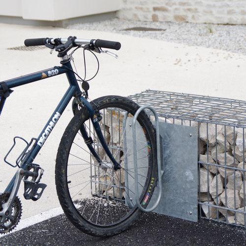 Rastrelliera per biciclette in acciaio / in acciaio galvanizzato / per spazi pubblici GRIFFE ID GABION - L'AGENCE URBAINE
