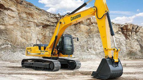 escavatore cingolato / per cantiere