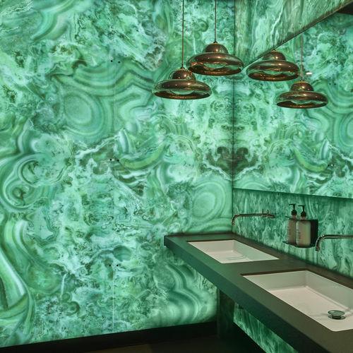 pannello decorativo in resina / in alluminio / composito / da parete