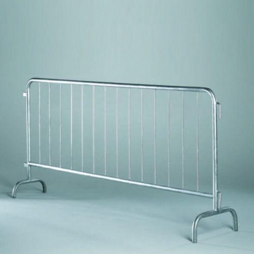 barriera di protezione / per controllo folla / in acciaio zincato / per spazio pubblico