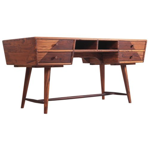 scrivania in teak / classica / contract